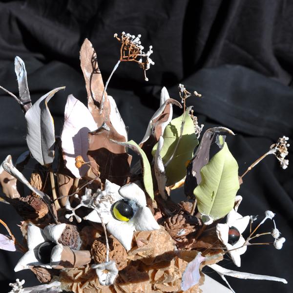 Planche Bouquets - Bouquet rose des Sables -