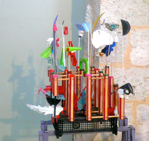 Exposition Morez sur Loing - Un Bureniste en cage